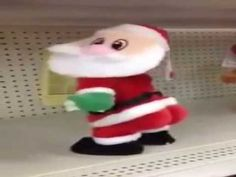 Papai Noel Dançando Zumba