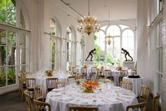 The Orangery wedding venue in Holland Park, Greater London