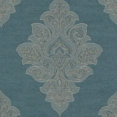 Kravet 3847.5 Lisette Blue Dusk Fabric Aqua Fabric, Drapery Hardware, Fabric Houses, Fabric Wallpaper, Dusk, Fabric Weights, Home Furnishings, Fabric Design, Pattern