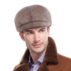95cb56e968f98 URSFUR Men s Mink Full Fur Sailor Hat (One Size