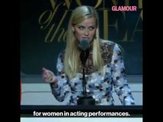 (76) Reece Witherspoon Woman of the Year full speech - Ambition is not a dirty word! - YouTube