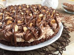 Food Choices for Fitness Your life is filled with choices! Every day you make thousands of choices, many related to food. Chocolate Sweets, Chocolate Recipes, No Cook Desserts, Dessert Recipes, Gelato, Nutella Pie, Cooking Cake, Mini Cheesecakes, Italian Recipes