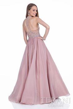 1391550b203 1612P1126 Rose Back Best Formal Dresses