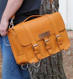"""LARGE 15"""" BELMAR BUCKHORN BRIEFCASE MADE IN THE U.S.A. Get this briefcase at Copper River Bags http://www.copperriverbags.com/large-15-belmar-buckhorn-briefcase-boubon/"""