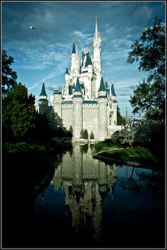 Cinderella Castle  Magic Kingdom  Walt Disney World  Lake Buena Vista, FL    By SpencerLynnProductions