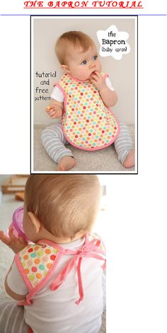 bapron a bib and apron in one for the really messy little ones