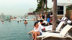 Lovely Marina Bay Sands Skypark