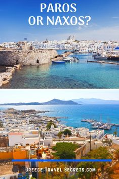 Which Greek Island should you stay on, Paros or Naxos? We detail all the key differences and similarities here. Which Greek Island should you stay on, Paros or Naxos? We detail all the key differences and similarities here. Greek Islands To Visit, Best Greek Islands, Greece Islands, Naxos Greece, Santorini Greece, Greece Vacation, Greece Travel, Travel Europe, European Travel