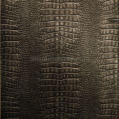 Krokodillen leer antraciet SD102104 | behang Natural Faux van Noordwand | kleurmijninterieur.nl