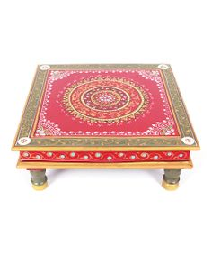 Red & Gray Bajot Low Table-I have this, it's beautiful...:)