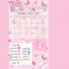 Calorie Tracker, Extreme Diet, Photo Studio, Picsart, February, Calendar, Tables, App, Drawings