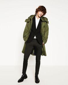 OVERSIZED PARKA de Zara