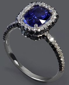 So this would be perfect for an engagement ring for those ppl like myself who wants a stone other than a diamond :)