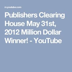 15 Best PCH Winners CIRCLE of 2012 images | Publisher
