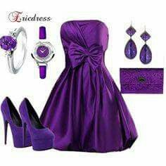 Purple! I so would love to have this entire outfit! I love everything about it!