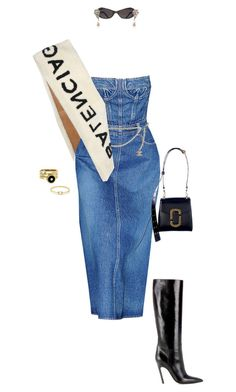 """""""."""" by malsss ❤ liked on Polyvore featuring Balenciaga, Chanel and Anissa Kermiche"""
