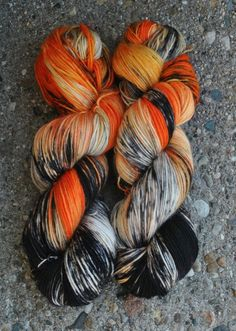 Carnivale MCN Sock Yarn Halloween Hoar Treats 2 by COULROPHOBIA, $27.00