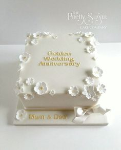 50th anniversary wedding bell cake toppers 337x420 - Enchanting 50th Wedding Anniversary Cake Ideas Inspirations You Must See - First thing first: congratulation on your 50th wedding anniversary! Well, it is indeed a great job to get this far—fifty years together!—with all ...