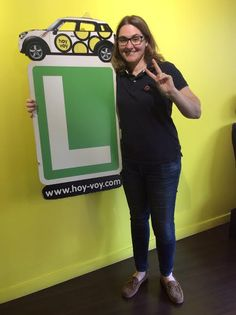 ELIZA MENDEZ!!! #hoyvoy #autoescuela #barcelona