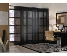 New curtains for new place - Rolling Sliding Panels, custom window panels, discount window treatment, bamboo sliding panels, shutters and blinds Sliding Panels, Window Panels, Window Coverings, Window Treatments, Sliding Windows, Sliding Doors, Patio Door Blinds, Curtains With Blinds, Patio Doors