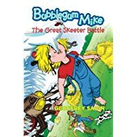 Readers are introduced to Mike Joseph who is chewing a newfangled bubblegum in The Great Skeeter Battle: Bubblegum Mike, Book 1 by Geoffrey Saign. His friends, Skim and Teddy, dare him to chew twenty pieces of that newfangled bubblegum and blow twenty bubbles. Mike wants...