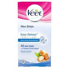 Waxing Kit, Body Waxing, Veet Wax Strips, Maybelline, Full Body Wax, Dry Sensitive Skin, Perfume, Unwanted Hair, Wax