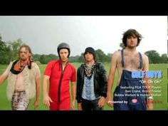 Golf Boys - Oh Oh Oh (Official Video) hahaha PGA tour players Ben Crane, Rickie Fowler, Bubba Watson and Hunter Mahan. Who knew professional golfers had a sense of humor like this LOL
