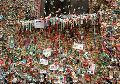 A sticky situation - Seattle's expanding Pike Place gum wall http://mynorthwest.com/646/2315390/A-sticky-situation--Seattles-expanding-Pike-Place-gum-wall