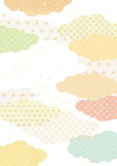 Impression de fond japonais - Illustration vectorielle Chinese Patterns, Japanese Patterns, Japanese Modern, Japanese Art, Japanese Menu, Chinese New Year Design, Abstract Iphone Wallpaper, Bussiness Card, Art Japonais