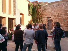 En el Castillo de Grisel, conociéndolo de mano del su propietario Luis Zueco, escritor experto en castillos