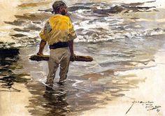 Regreso de la pesca - Joaquín Sorolla y Bastida - 1894