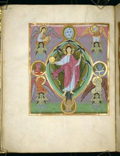 Reichenauer Evangeliar, Pergament, III + 258 + V Bl., 30,5 × 23,5 cm, Herkunft: Reichenau, Anfang 11. Jh