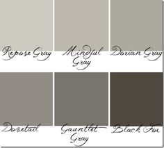 Sherwin Williams Paints - repose is a little too light, maybe mindful gray?