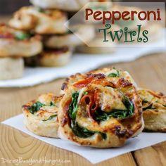 Pepperoni Twirls   DizzyBusyandHungry.com #pepperoni #pizza #easyrecipe
