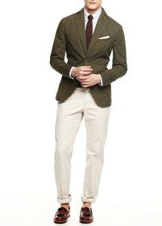 HE BY MANGO - Washed cotton blazer #SS14 #MENSWEAR