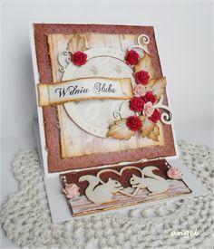 Sztalugowa kartka ślubna