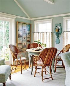 """Sherwin Williams """"rain"""" - like this color for living room"""