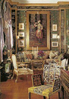 little augury: Ann Getty, Degas, the Divine Sarah & A TREE