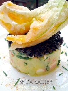 tortini di polpo e patate di Sadler