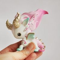 Mini Unicorn Art Toy - Thumbnail 1