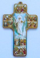 Wall Plaques using Special Gold Foil Techniques and Wall Plaque depicting the Apparitions, Holy Family, the blessed Virgin Mary with Hold Child along with many more. Crucifixion Of Jesus, Our Lady Of Lourdes, Christian Religions, The Cross Of Christ, Divine Mercy, Maltese Cross, Last Supper, Blessed Virgin Mary, Wall Crosses