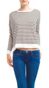 Kris Sweater, Black Stripe