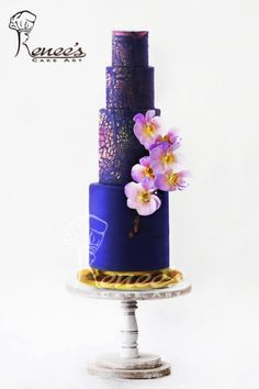 Wedding Cake By Purbaja B Chakraborty by Purbaja B Chakraborty - http://cakesdecor.com/cakes/295130-wedding-cake-by-purbaja-b-chakraborty