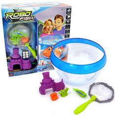 Zuru Robo Fish Wave 5 Rechargeable Assortment Summer Garden Fun
