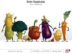 Victor Veggiestein on Behance