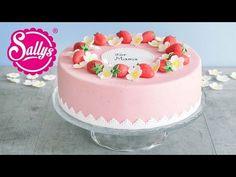 Muttertagstorte - Erdbeertorte mit Holunderblüte & Minze - YouTube