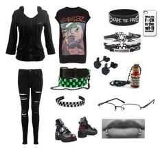 """""""TMNT"""" by thelittlefanthatcould ❤ liked on Polyvore featuring And Finally, Jeffrey Campbell, Miss Selfridge, women's clothing, women's fashion, women, female, woman, misses and juniors"""