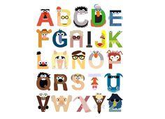 Muppet Alphabet!