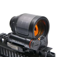 HAOYUN SRS Solar Power Holographic Sight Red Dot Sight Scope Optic Sight Reflex Sight for Hunting Scopes * For more information, visit image link. (As an Amazon Associate I earn from qualifying purchases) Hunting Stores, Red Dot Sight, Solar Power System, Military Weapons, Rifle Scope, Red Dots, Seal, Airsoft, Holographic