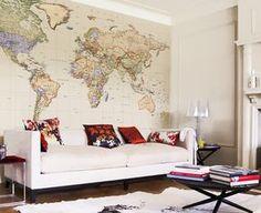 Map Wallpaper - Political World Map - Empire